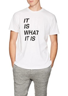 """Rag & Bone Men's """"It Is What It Is"""" Cotton T-Shirt"""