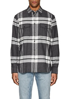 Rag & Bone Men's Jack Plaid Cotton Flannel Overshirt