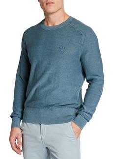 Rag & Bone Men's Lance Dagger Embroidered Sweatshirt