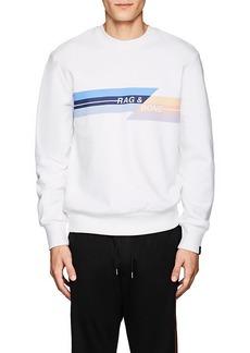 Rag & Bone Men's Logo Cotton Terry Sweatshirt