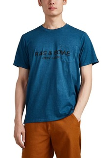 "Rag & Bone Men's ""New York"" Cotton Jersey T-Shirt"