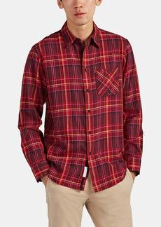 Rag & Bone Men's Plaid Cotton Flannel Shirt