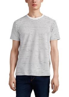 Rag & Bone Men's Railroad Striped Cotton T-Shirt