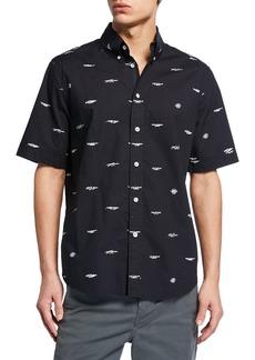 Rag & Bone Men's Smith Short-Sleeve Sport Shirt