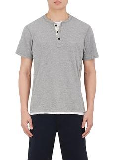 Rag & Bone Men's Standard Issue Cotton Jersey Henley