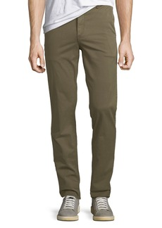 Rag & Bone Men's Standard Issue Fit 2 Mid-Rise Relaxed Slim-Fit Chino Pants  Green Army