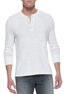 Rag & Bone Men's Standard Issue Slub-Knit Basic Henley