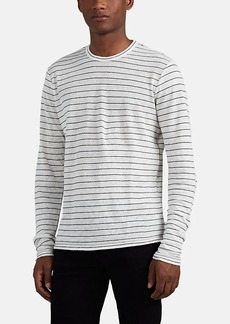 Rag & Bone Men's Striped Linen Long-Sleeve Shirt
