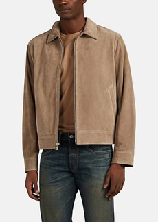 Rag & Bone Men's Suede Zip-Front Shirt Jacket