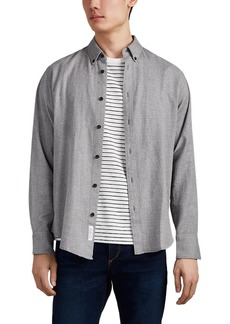 Rag & Bone Men's Tomlin Cotton-Linen Flannel Shirt