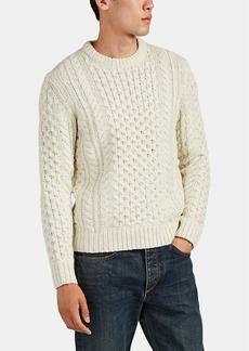 Rag & Bone Men's Trevor Aran Wool-Blend Sweater
