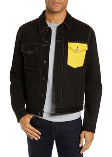 rag & bone Mickey Mouse Unisex Denim Jacket