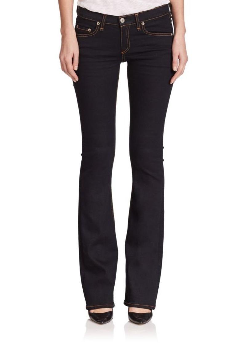 Rag & Bone Mid-Rise Bootcut Jeans
