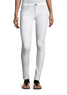 Rag & Bone Mid-Rise Skinny Denim Jeans