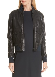 rag & bone Mila Lambskin Leather Jacket