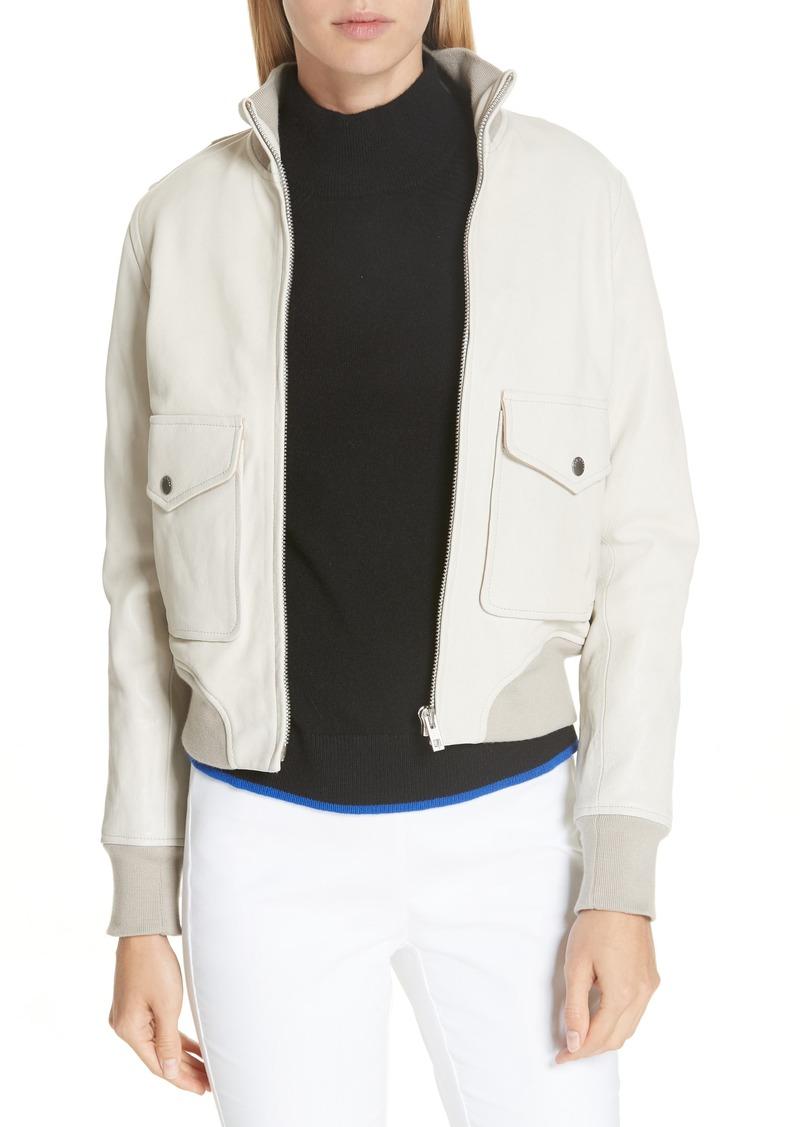 rag & bone Mila Lambskin Leather Jacket