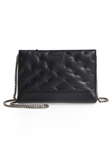 rag & bone Mini Compass Studded Leather Crossbody Bag