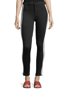 Rag & Bone Mito High-Rise Skinny-Leg Jeans with Tux Stripes
