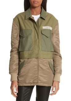 rag & bone Modular Field Convertible Cotton Jacket