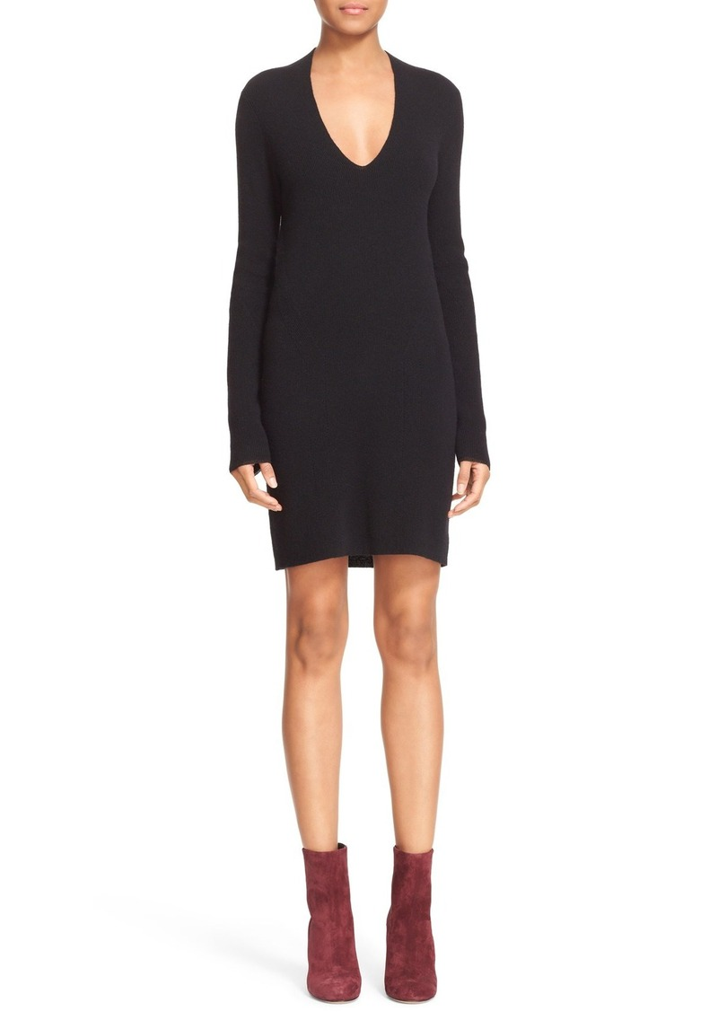 rag & bone 'Natasha' Rib Knit Cashmere Dress