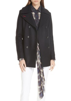 rag & bone Nella Wool Blend Peacoat