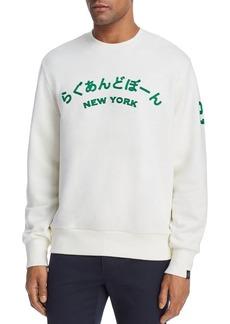 rag & bone New York Japan Crewneck Sweatshirt