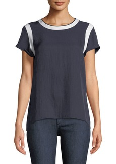 Rag & Bone Nick Crewneck Short-Sleeve Tee