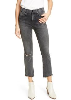 rag & bone Nina Ankle Flare Jeans (Bakton)