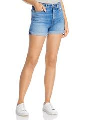 rag & bone Nina Cuffed Denim Shorts in Palmer