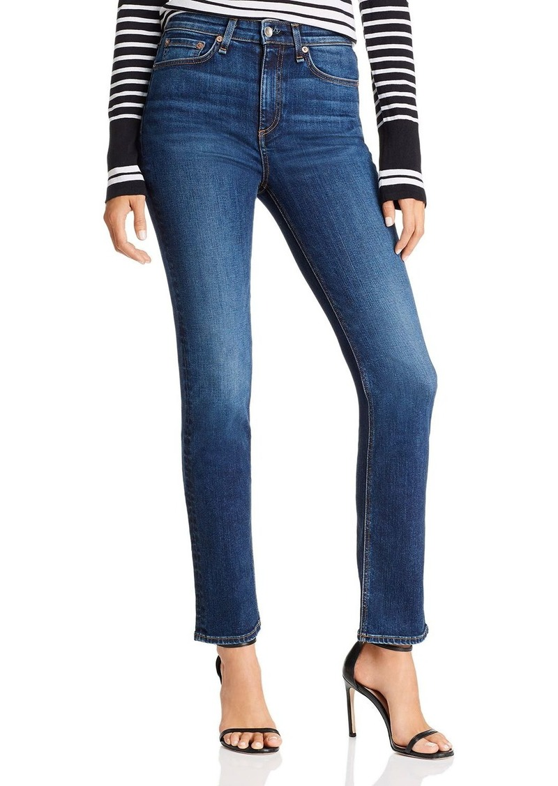 rag & bone Nina High-Rise Cigarette Jeans in Carla