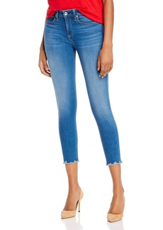 rag & bone Nina High-Rise Ankle Skinny Jeans in Flint