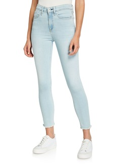 Rag & Bone Nina High-Rise Skinny Crop Jeans