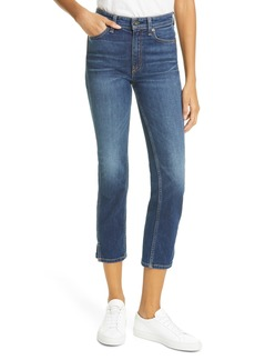 rag & bone Nina High Waist Ankle Cigarette Jeans (Manchester)