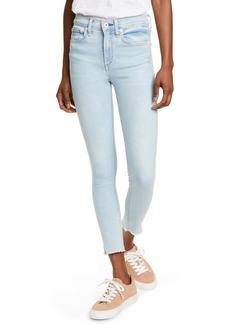 rag & bone Nina High Waist Ankle Skinny Jeans (Akron)