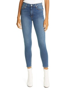 rag & bone Nina High Waist Ankle Skinny Jeans (Camden)