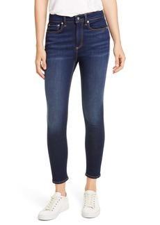 rag & bone Nina High Waist Ankle Skinny Jeans (Carmen)