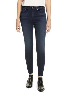 rag & bone Nina High Waist Ankle Skinny Jeans (Etta)