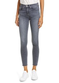 rag & bone Nina High Waist Ankle Skinny Jeans (Universe)