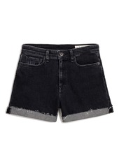 rag & bone Nina High Waist Denim Shorts