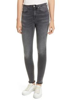 rag & bone Nina High Waist Skinny Jeans (Amory)
