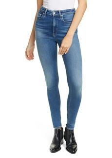 rag & bone Nina High Waist Skinny Jeans (Exmoor)