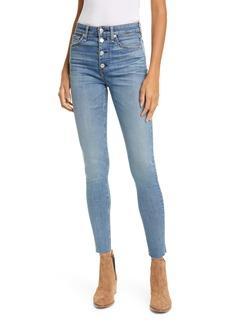 rag & bone Nina High Waist Skinny Jeans (Fire Island)
