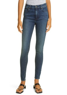 rag & bone Nina High Waist Skinny Jeans (Rock Rose)
