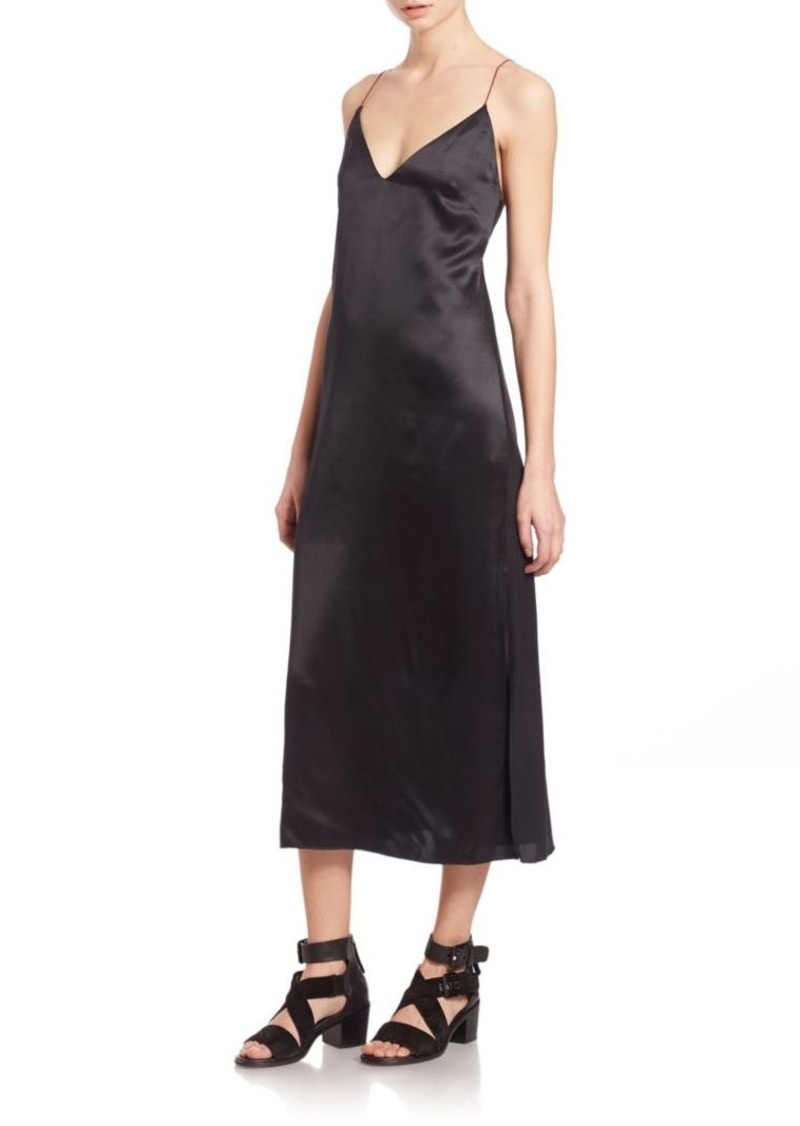 Rag & Bone Nina Silk Slip Dress