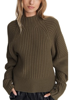 rag & bone Oakes Mock Neck Merino Wool Sweater