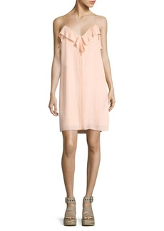 Rag & Bone Orchard Ruffled Slip Dress