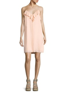 Rag & Bone Orchard Ruffled Slip Dress
