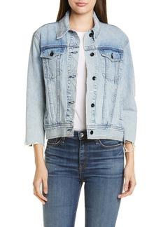 rag & bone Oversize Denim Jacket