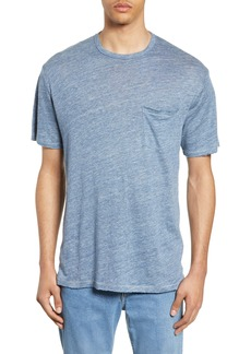 rag & bone Owen Linen Slim Fit Pocket T-Shirt
