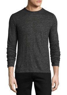 Rag & Bone Men's Owen Long-Sleeve Linen T-Shirt